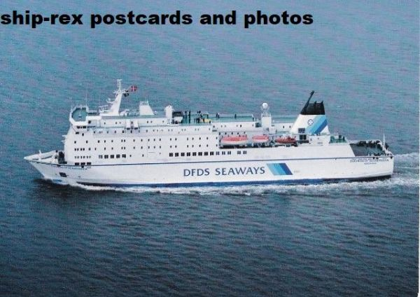 DUCHESS OF SCANDINAVIA (DFDS) postcard (b)